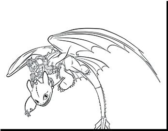 Nach Nummern Malen Dreamworks Animations Drachenzähmen Leicht